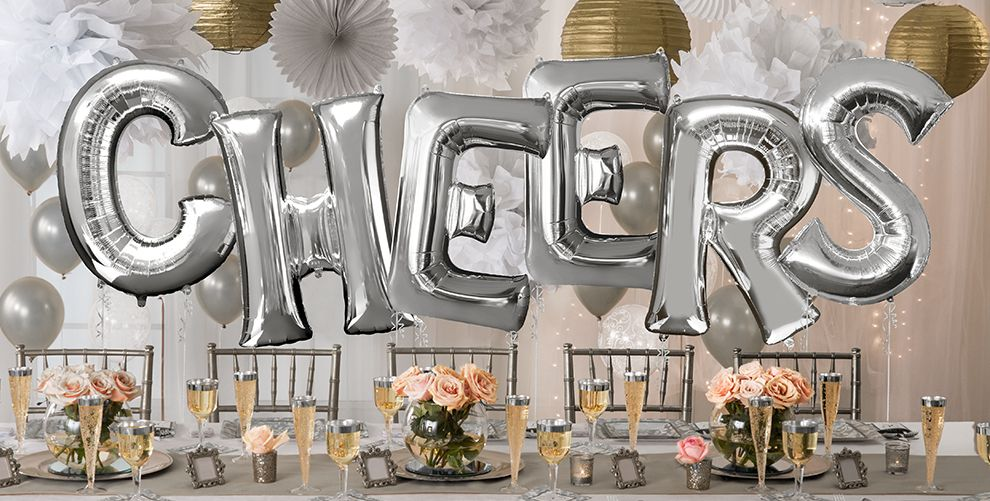 Chicago Balloon Delivery with custom letters (up to 8 giant letters)  $165.00