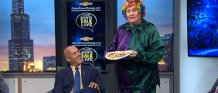 Rainbow The Magical Clown on Sorts Talk Live with David Kaplan