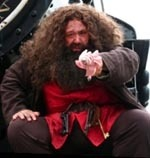 Hagrid Groundskeeper, Potter Character